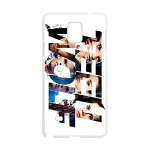 Teen Wolf Samsung Galaxy Note 4 Cell Phone Case White yyfabd-192678