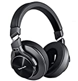 Active Noise Cancelling Headphones, Bluetooth Headphones with Microphone Hi-Fi Stereo Bass Wireless Headphones