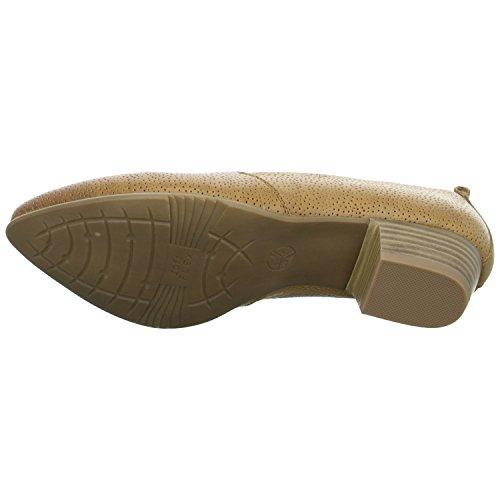 Mujeres Zapatos de tacón nut marrón, (NUT) 8-8-24306-26-440