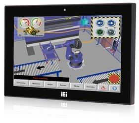 IEI 15インチワイドタッチパネルPC インテルPentium搭載 静電容量式タッチモデル AFL3-W15B-H81-P/PC/4G