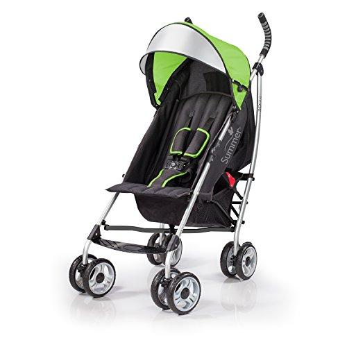 Summer Infant 3Dlite Convenience Stroller, Green