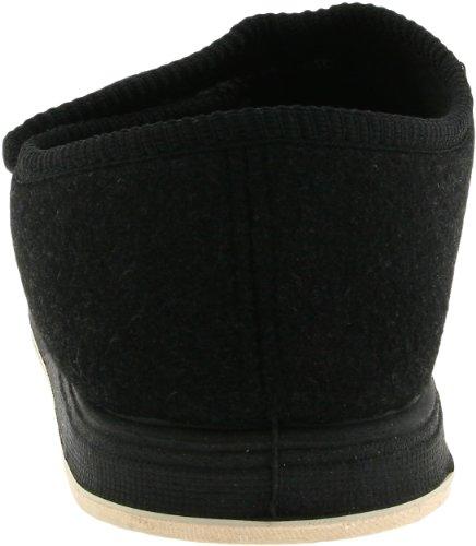 Foamtreads Womens Kendale Pantoufle Tissu Noir