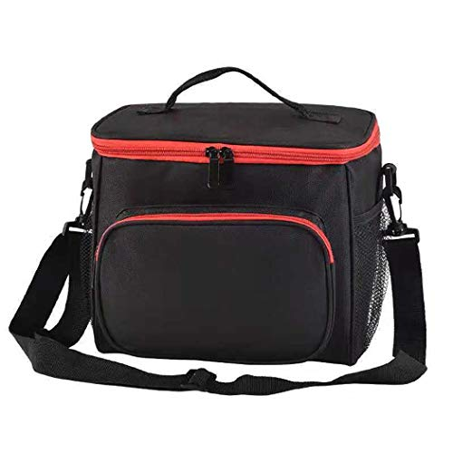 Lioder Lunch Bag Insulated Lunch Box for Adults Kids Men Women, Picnic Bag with Two Zippers Closure from Lioder