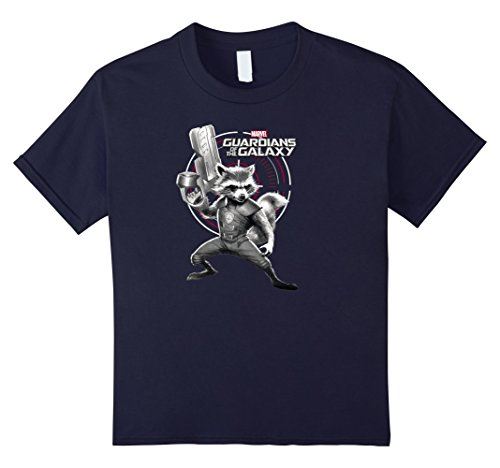 Target Girls Fashion - Kids Marvel Rocket Guardians of the Galaxy Target Graphic T-Shirt 6 Navy