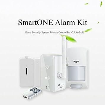 Amazon.com: Kit de seguridad anti robo alarma Detector con ...