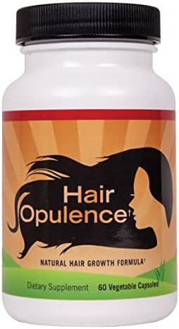 Hair Opulence - Hair Growth Formulation with Biotin for Healthier, Longer, Stronger Hair. Keratin, Collagen, Bamboo & More - Any Hair Type - Veggie Caps