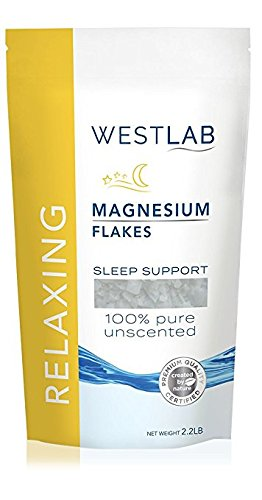 2 X Westlab's Magnesium Flakes with Pure Zechstein Inside - 2.2lb Resealable Bags