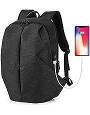 Tocode Laptop Rucksack mit USB Ladeanschluss Wasserdicht Business Taschen Rucksack für Herren Damen Arbeit Reisen Schule bis zu 15,6 Zoll Laptop und Notebook
