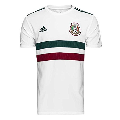 (adidas 2018-2019 Mexico Away Football Soccer T-Shirt Jersey (Kids))
