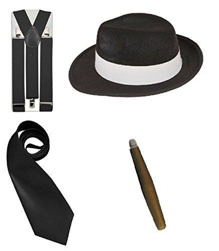 glamour gangster fancy dress - 5