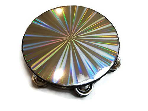 New 8 inch Reflective Double Row B-Stock Percussion Tambourine Church Band Music by Echo (Image #2)