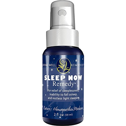 Sleep Now Remedy - Natural Sleep Aid - Homeopathic Spray - Sleep Through The Night - Calmness, Relaxation, Falling Asleep Quickly - Non-Habit Forming, Safe Supplements