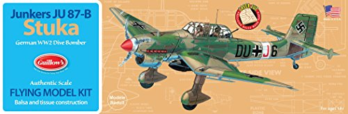 - Guillow's Junkers JU 87-B Stuka Model Kit