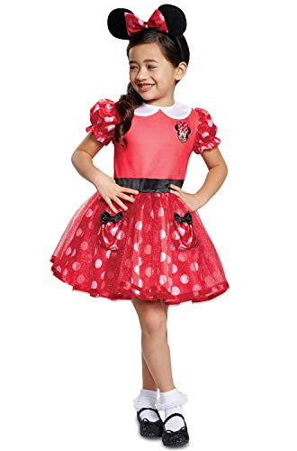 Disguise Red Minnie Mouse Infant Child Costume, Red, (6-12 -