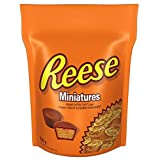 REESE Chocolate Candy Peanut Butter Cups, Miniatures, 230 Gram