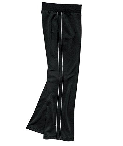 Charles River Girls' Olympian Pant - Black/White - M
