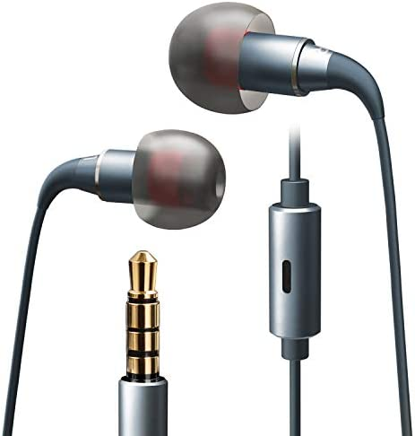 Headphones Microphone Lightweight Noise Isolating Tangle Free product image