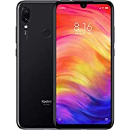 "Xiaomi Redmi Note 7 128GB + 4GB RAM 6.3"" FHD+ LTE Factory Unlocked 48MP GSM Smartphone (Global Version) (Space Black)"