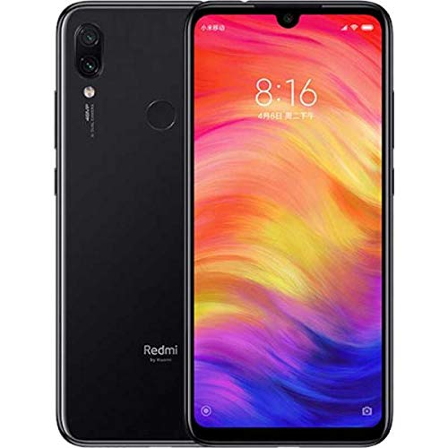 Xiaomi Redmi Note 7 128GB + 4GB RAM 6.3'' FHD+ LTE Factory Unlocked 48MP GSM Smartphone (Global Version) (Space Black)