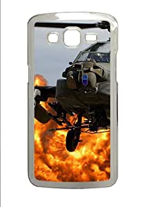 Samsung Galaxy Grand 2 7106 Cases & Covers -Ah64 Apache Helicopter Custom PC Hard Case Cover for Samsung Galaxy Grand 2 7106šC Transparent