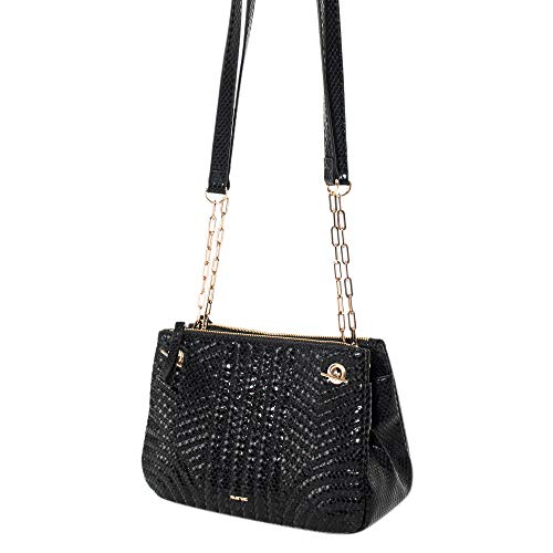 Women Shadow Dark Parfois Bag Black Cross wxRFagFq