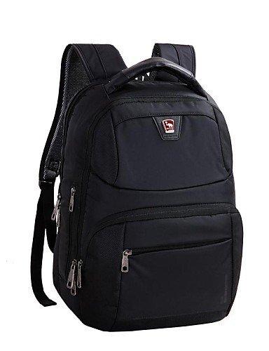 GXS OIWAS Herren Terylene und PVC-19L Laptop Rucksack Tasche für 14 Zoll Laptop