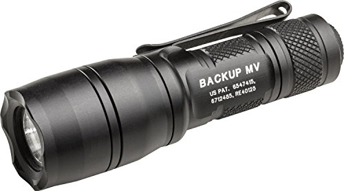 SureFire E1B-MV Backup Flashlights with Dual Output LED with MaxVision Beam Technology by SureFire