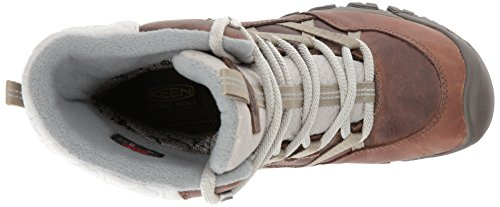 Keen Hoodoo III Lace Up, Scarpe da Arrampicata Alta Donna Marrone (Coconut/Plaza Taupe)