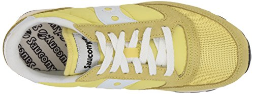 Original Jazz Yellow Baskets White Vintage Femme Saucony v75w6x1qw