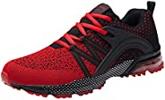 SYKT Running Shoes Mens Womens Fashion Sneakers Tennis Sports Casual Walking Athletic Fitness Indoor and Outdo