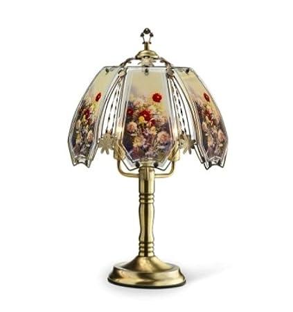 Amazon.com: Ore Internacional k-632ab-w12 Oro Floral mesa de ...