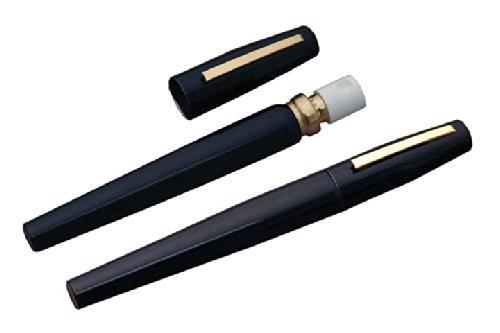 (Police Magnum Black Pen Pepper Spray Self Defense Ink Pen)