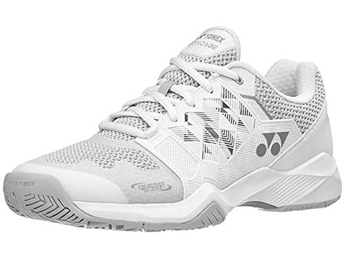 Yonex Power Cushion Sonicage Womens Tennis Shoe - White/Silver - Size 8
