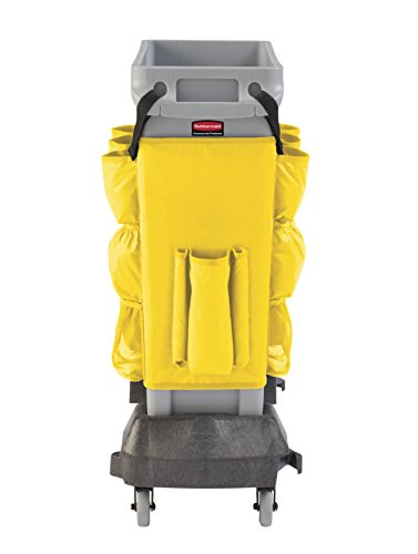 Rubbermaid Commercial Products 2032951 Slim Jim Caddy Bag for 23 gal, Yellow by Rubbermaid Commercial Products (Image #1)