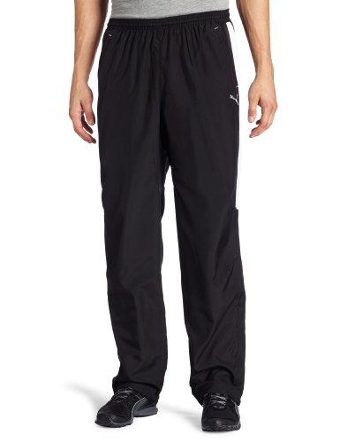 PUMA Men's Woven Tracksuit 2 Pant, Black/White