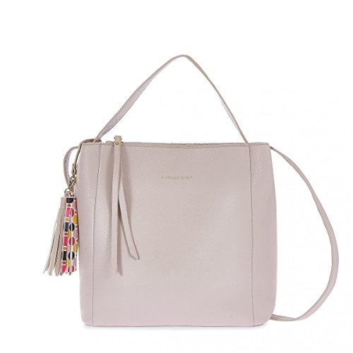 pash bag - Bolso al hombro para mujer Beige beige 30x29,5x13cm