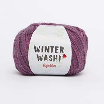 Katia Winter Washi - Farbe: Lila/Morado (208) - 100 g / ca. 150 m ...