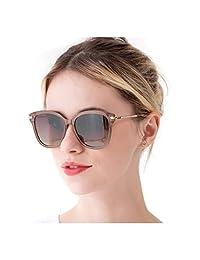 RazLiubit Mujer Moda Gafas De Sol para Carreras, Viaje, Conducción, Golf, y Actividades Exteriores, 100% UVA & UVB Protección
