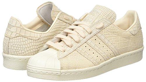 White Beige Femme linen off Superstar Baskets linen Adidas 80s Hautes cSzqwpv
