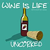 2019 Avalon Wall Calendar, Wine is Life, 12 x 12 Inches (89749)