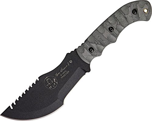 9. TOPS KNIVES TOM BROWN TRACKER WITH ROCKY MOUNTAIN TREAD HANDLE