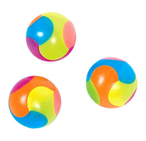 Party Perfect Colorful Puzzle Balls Favours, Plastic, 1