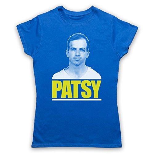 Lee Harvey Oswald Patsy Camiseta para Mujer Azul Real