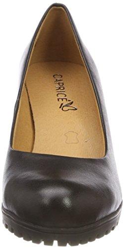 Scarpe 22406 Donna Nappa black 22 Caprice Con Tacco Nero qna5dFwz