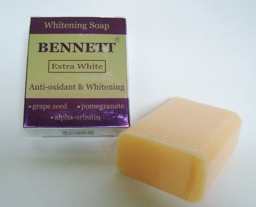 BENNETT EXTRA WHITE Anti-Oxidant Alpha Arbutin Extreme Whitening Soap (4.6 Ounce Soap Bar)