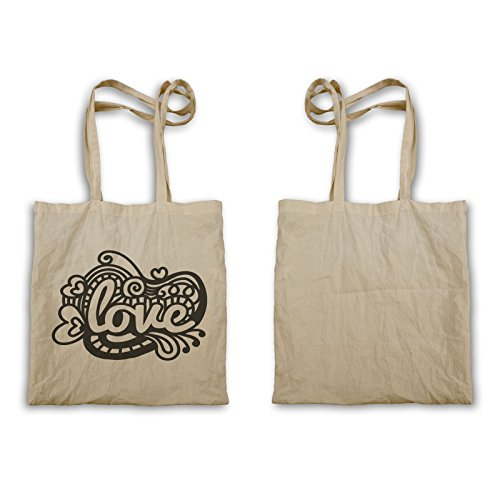 Zentangle Love Tragetasche t445r