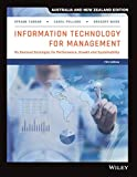 Information Technology for Management: On-Demand Strategies for Performance, Growth and Sustainability