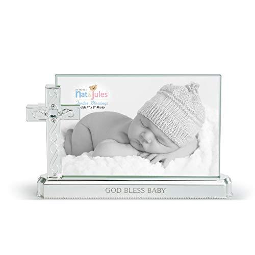 God Bless Baby Cross (Demdaco Baby God Bless Baby Cross Frame)