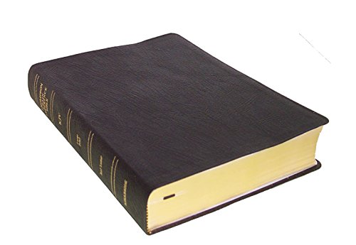 KJV - Black Genuine Leather - Large Print - Thompson Chain Reference Bible (015140)