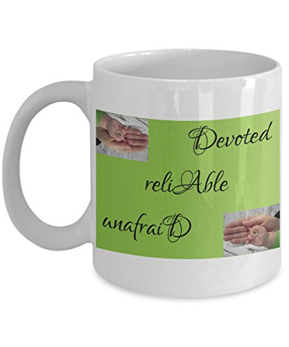 Thoughtful Inexpensive Personalized Coffee or Tea Mug - Great Gift Idea for Him or Dad on Father's Day - Birthday - Valentine's Day - Christmas from Sons or (French Vanilla Cigars)